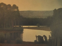 Summer Twilight on the Colorado by Russel Chatham