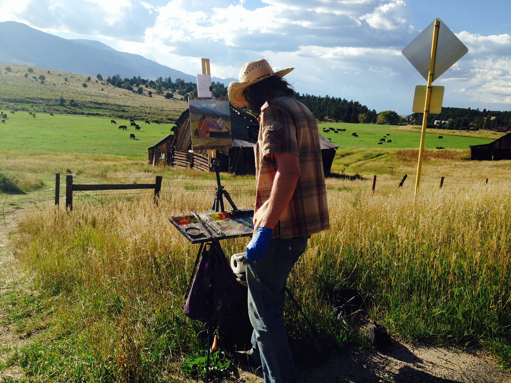 joshua been returning artist  plein air small