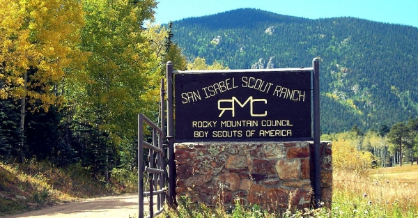 San Isabel Scout Ranch, Pueblo County near Rye, CO