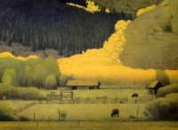 Eagle County in the Fall by Russel Chatham